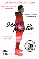 Cover image for Dear Martin [kit] / Nic Stone.