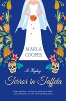 Cover image for Terror in taffeta : a mystery / Marla Cooper.