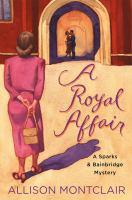 Cover image for A royal affair / Allison Montclair.