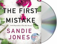 Cover image for The first mistake [sound recording] / Sandie Jones.