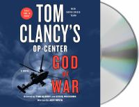 Cover image for Tom Clancy's Op-center. God of war [sound recording] / created by Tom Clancy and Steve Pieczenik ; written by Jeff Rovin.