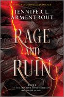 Cover image for Rage and ruin / Jennifer Armentrout.