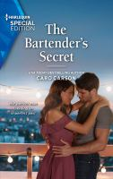 Cover image for The bartender's secret / Caro Carson.