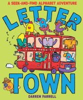 Cover image for Letter town / by Darren Farrell.