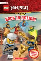 Cover image for LEGO Ninjago Legacy. Back in action.