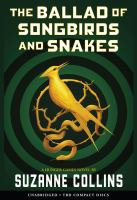 Cover image for The ballad of songbirds and snakes [sound recording] / Suzanne Collins.