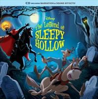 Cover image for The legend of Sleepy Hollow [sound recording] : read-along storybook and CD / adapted by Lauren Clauss.