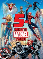Cover image for 5-minute Marvel stories.