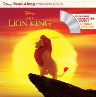 Cover image for Disney The Lion King [sound recording] : read-along storybook and CD / illustrated by the Disney Storybook Art Team.