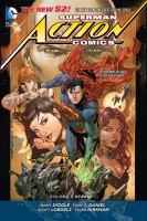 Cover image for Superman - Action Comics. Volume 4, Hybrid / Andy Diggle, Scott Lobdell, Tony S. Daniel, Mike Johnson, Frank Hannah, writers ; Tony S. Daniel, Tyler Kirkham, artists.