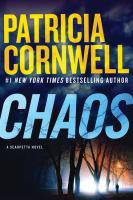 Cover image for Chaos [text (large print)] / by Patricia Cornwell.
