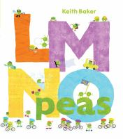 Cover image for LMNO peas [sound recording] / written and illustrated by Keith Baker.