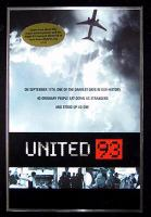 Cover image for United 93 / Universal Pictures and Studiocanal present in association with Sidney Kimmel Entertainment a Working Title production ; produced by Tim Bevan, Eric Fellner, Lloyd Levin, Paul Greengrass ; written and directed by Paul Greengrass.