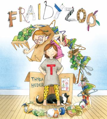 Cover image for Fraidyzoo / Thyra Heder.
