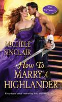 Cover image for How to marry a Highlander / Michele Sinclair.