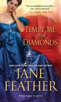 Cover image for Tempt me with diamonds / Jane Feather.