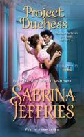 Cover image for Project duchess / Sabrina Jeffries.
