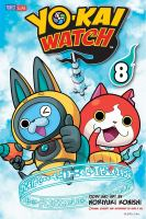 Cover image for Yo-kai watch. 8, A boohoo battle / story and art by Noriyuki Konishi ; original concept and supervised by Level-5 Inc. ; translation/Tetsuichiro Miyaki ; English adaptation/Aubrey Sitterson ; lettering, John Hunt.