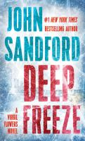 Cover image for Deep freeze [text (large print)] / John Sandford.