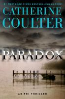 Cover image for Paradox [text (large print)] / Catherine Coulter.