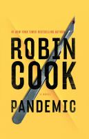 Cover image for Pandemic [text (large print)] / Robin Cook.