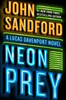 Cover image for Neon prey [text (large print)] / John Sandford.