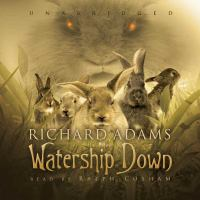 Cover image for Watership Down [sound recording] / Richard Adams.