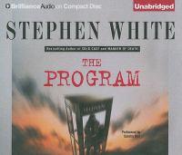 Cover image for The program [sound recording] / Stephen White.