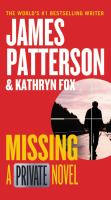 Cover image for Missing [text (large print)] / James Patterson and Kathryn Fox.
