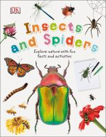 Cover image for Insects and spiders / written by Steve Parker.