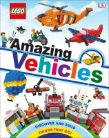 Cover image for Amazing vehicles / written by Rona Skene.