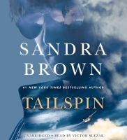 Cover image for Tailspin [sound recording] / Sandra Brown.