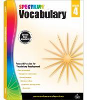 Cover image for Vocabulary. Grade 4.