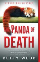 Cover image for The panda of death / Betty Webb.