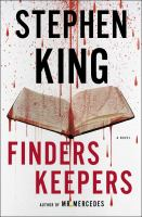 Cover image for Finders keepers / Stephen King.