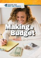 Cover image for Making a budget / Xina M. Uhl and Judy Monroe Peterson.