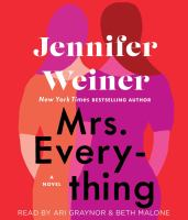 Cover image for Mrs. Everything [sound recording] / Jennifer Weiner.