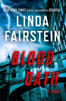 Cover image for Blood oath / Linda Fairstein.