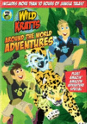 Imagen de portada para Wild Kratts. Around the world adventures.