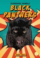 Cover image for Black panthers / Kenny Abdo.