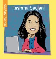 Cover image for Reshma Saujani / by Katlin Sarantou ; illustrated by Jeff Bane.
