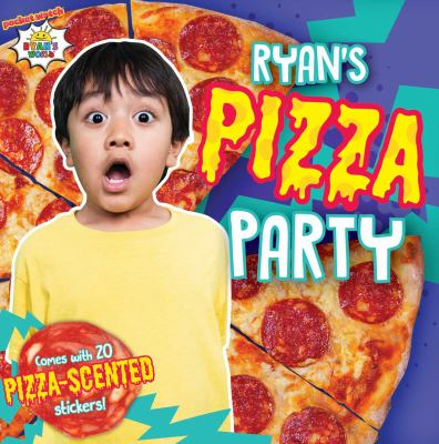 Cover image for Ryan's pizza party / text by May Nakamura.