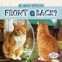 Cover image for Front or back? / Adeline Zubek.
