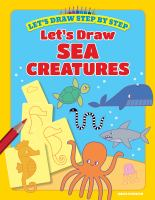 Cover image for Let's draw sea creatures / Kasia Dudziuk.
