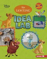 Cover image for The Lion King idea lab / by Shaina Olmanson.