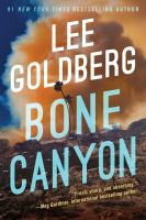 Cover image for Bone canyon / Lee Goldberg.