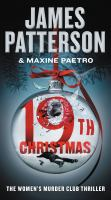 Cover image for The 19th Christmas (CD) [sound recording] / James Patterson.