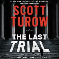 Cover image for The last trial [sound recording] / Scott Turow.