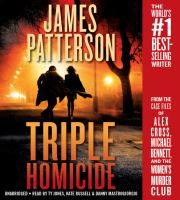 Cover image for Triple homicide [sound recording] / James Patterson.