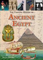 Imagen de portada para The timeline history of ancient Egypt / Shereen Ratnagar.